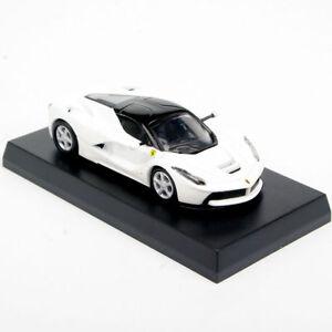 KYOSHO-1-64-Diecast-Model-Car-White-For-LaFerrari-Minicar-Vehicles-Toys