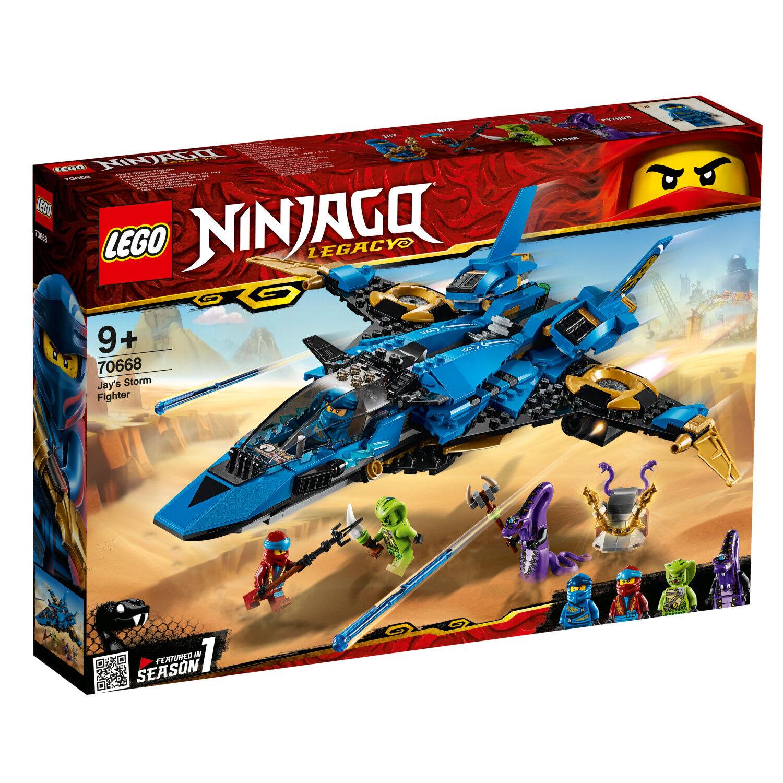 Lego Ninjago 70668 Legacy Set Jays Tonnerre-Jet ña pythor Lasha n1 19