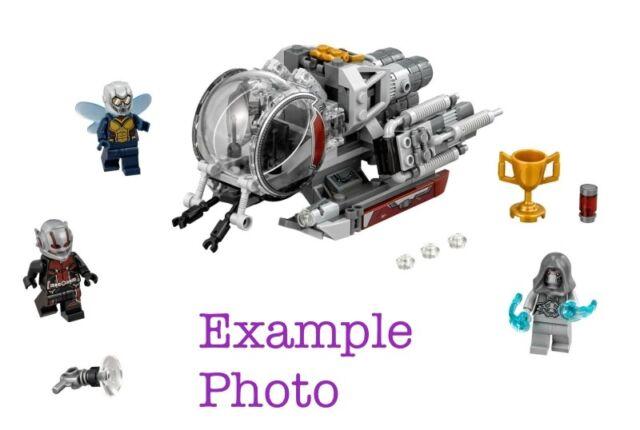 Baukästen Konstruktion Lego 6 X 6 Trans Clear Printed