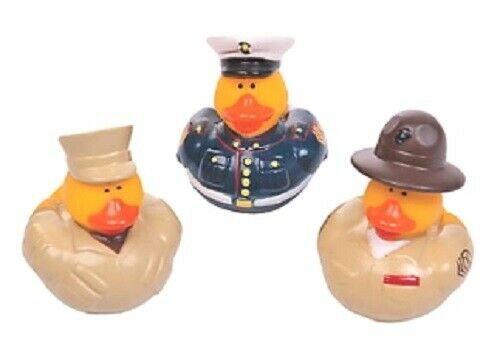 Marine Rubber Duck Set of 3     **Free S//H when you buy 6 items from my store:-