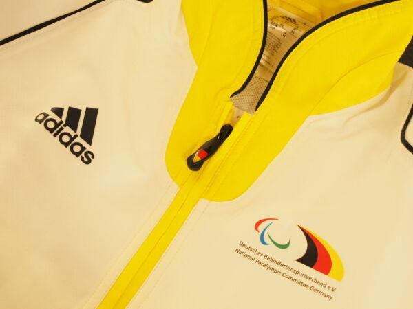 Adidas Jacke W * Sportjacke Überzieher Damen * Blouson Deutschland Adler 36