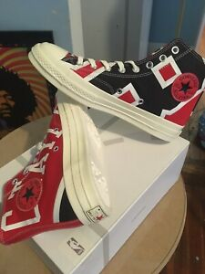 Details about Converse Chuck Taylor All Star 70s Hi Gameday Chicago Bulls Size 8 Trainers NBA