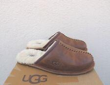 a2b891d987d UGG Australia Men 10 Scuff Deco Slippers 1008548 Chestnut Leather ...