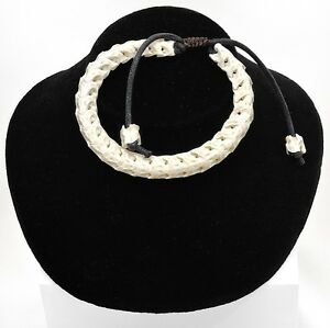 Tribal-Biker-Vodoo-Snake-Bone-Vertabrae-Bracelet