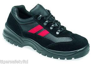 Zapatillas Rojo Composite Protección Lh507 De Puntera Negro Hombre Globetrotters wnaqfZBf