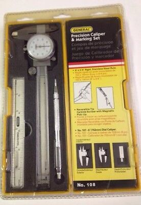 Precision Caliper And Marking Set General 108