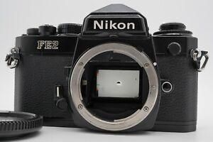 [EXC+5] Nikon FE2 Black 35mm SLR Film Camera Body From Japan