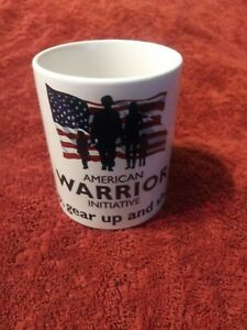American Patriot Coffee Mug Get Up Gear Up And Show Up Ebay