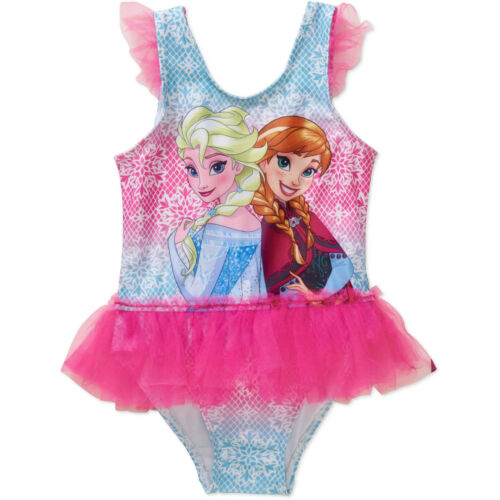 Disney Infant Toddler One Piece Swimsuits Minnie ETC Various Sizes NWT Frozen