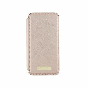 Kate Spade New York Folio Case For iPhone 7 - Rose Gold Saffiano KSIPH-061-SRG