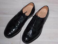Church's 44 Burwood Black Polished Binder Triple sole 100 G