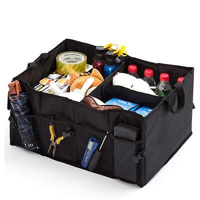 New Car Storage Bag Folding Multifunction Trunk Organizer Travel Foods Tools Box