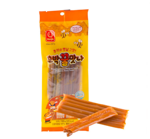 Korean-Traditional-Macaroni-Snack-Pumpkin-Honey-Taste-HOBAK-KKULMATNA-100g