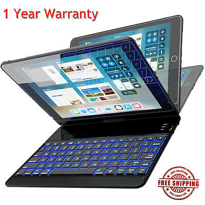 ipad Air 2 Keyboard Case Backlit Bluetooth Keyboard Cover For A1566//A1567 US Cj