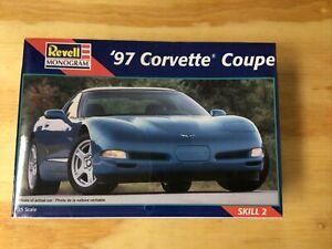"""KHS- 1/25 """"97 CORVETTE COUPE REVELL MONOGRAM 85-2490 -1216"""