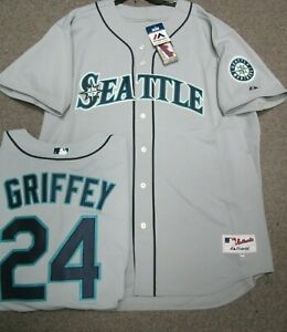premium selection c0f86 b120e Details about KEN GRIFFEY JR SEARTTLE MARINERS AUTHENTIC JERSEY SIZE 56 60  JERSEY MAJESTIC NEW