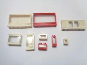 Lego ® Fenêtre Maison Commissariat 1X4X6 Window Choose Color 60596 60803 NEW