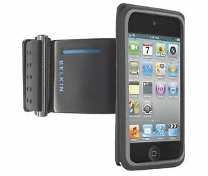 Belkin-Sport-Adjustable-Armband-Case-w-Key-Pocket-for-iPod-Touch-4G-4th-Gen-Used