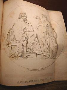 Thorvaldsen-4-Bretter-Kopenhagener-kunstblatt-1831-32-Kunst-seltene-Magazin