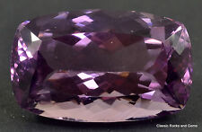 27ct Top Amethyst Faceted Gemstone Top Amethyst facettiert Edelstein