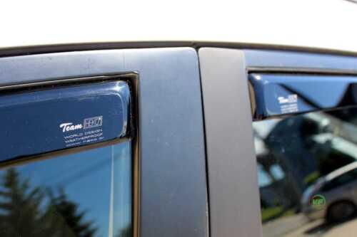 DMA23152 Mazda 2 5 puertas Hatchbach 2009-up desviadores 4pc Heko teñida de viento