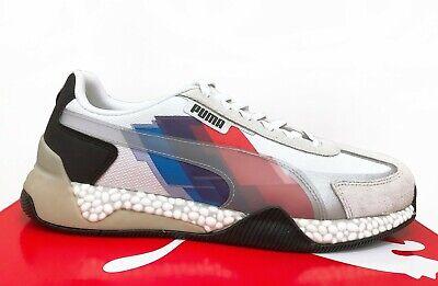 PUMA BMW Motorsport Speed Hybrid Men's Sport Car Fan Shoes Sneakers White |  eBay