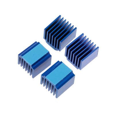 10Pcs//Set 14x14x8mm Cooling Aluminum Heatsink For Computer Electrical Facilities