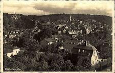 1940 Feldpost-AK Stempel Lichtenstein Sachsen Lazarett S. World War II Postcard