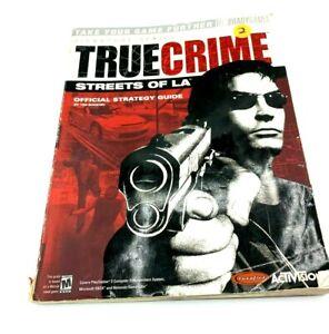 True Crime Streets of LA BradyGames Strategy Guide Book PS 2, Xbox, GameCube