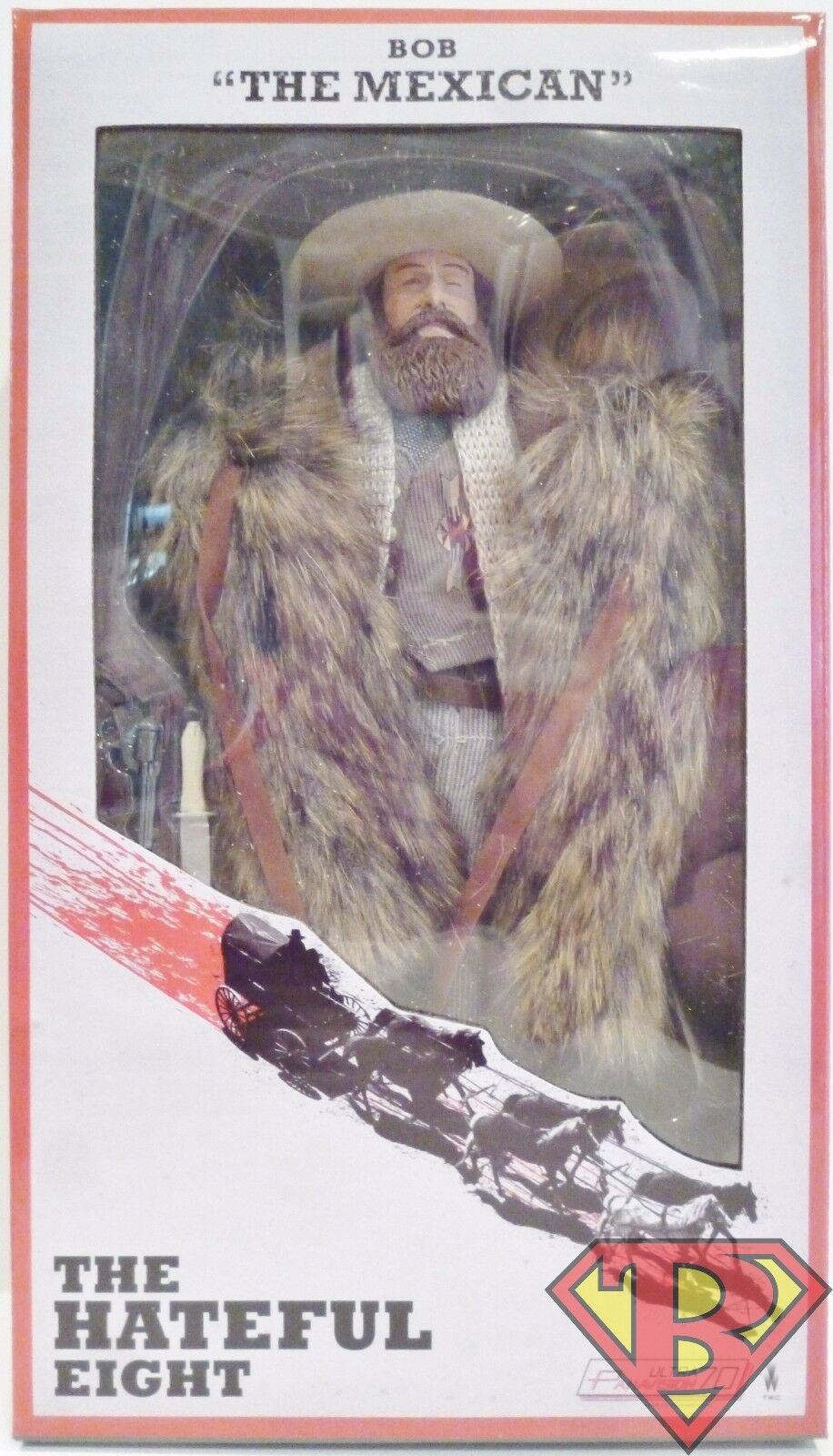 BOB  THE MEXICAN  The Hateful Eight 8  inch Clothed Movie Figure Neca 2016
