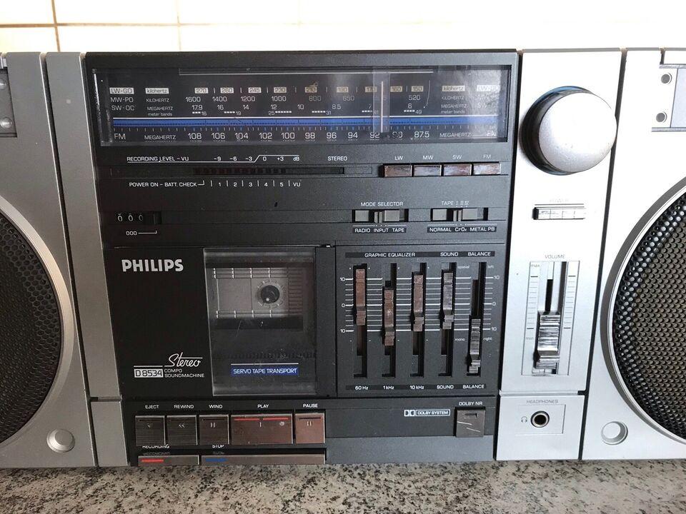 Ghettoblaster, Philips, D8534