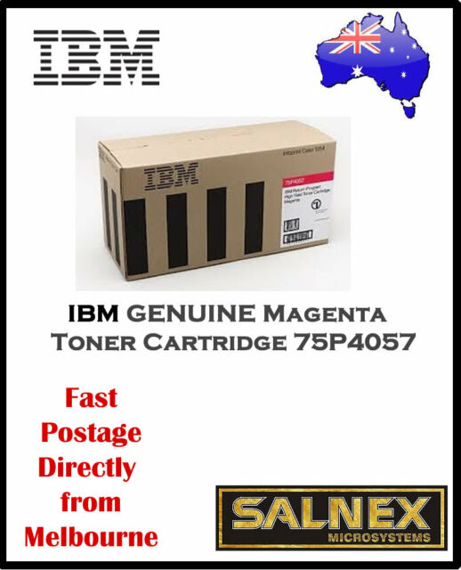 IBM GENUINE 75P4057 Magenta Laser Toner Cartridge  For InfoPrint Color 1354,1464