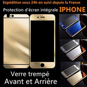 film protection protege ecran miroir vitre verre trempe iphone 4 5 6 6s plus 7 8 ebay. Black Bedroom Furniture Sets. Home Design Ideas