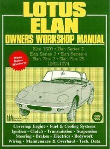 Lotus-Elan-Owners-Workshop-Service-Manual-1962-1974-Book