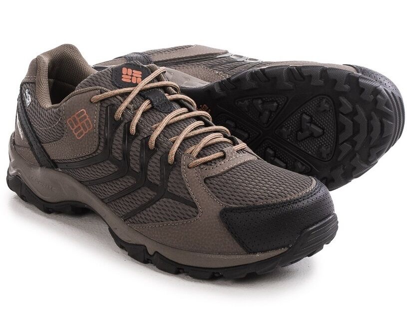 New Mens Columbia Trailhawk OutDry Techlite Omni-Grip Hiking Trail Comfort Shoes