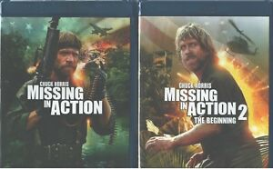 MISSING-IN-ACTION-1-2-Chuck-Norris-Vietnam-Adventure-Classics-NEW-2-BLU-RAY