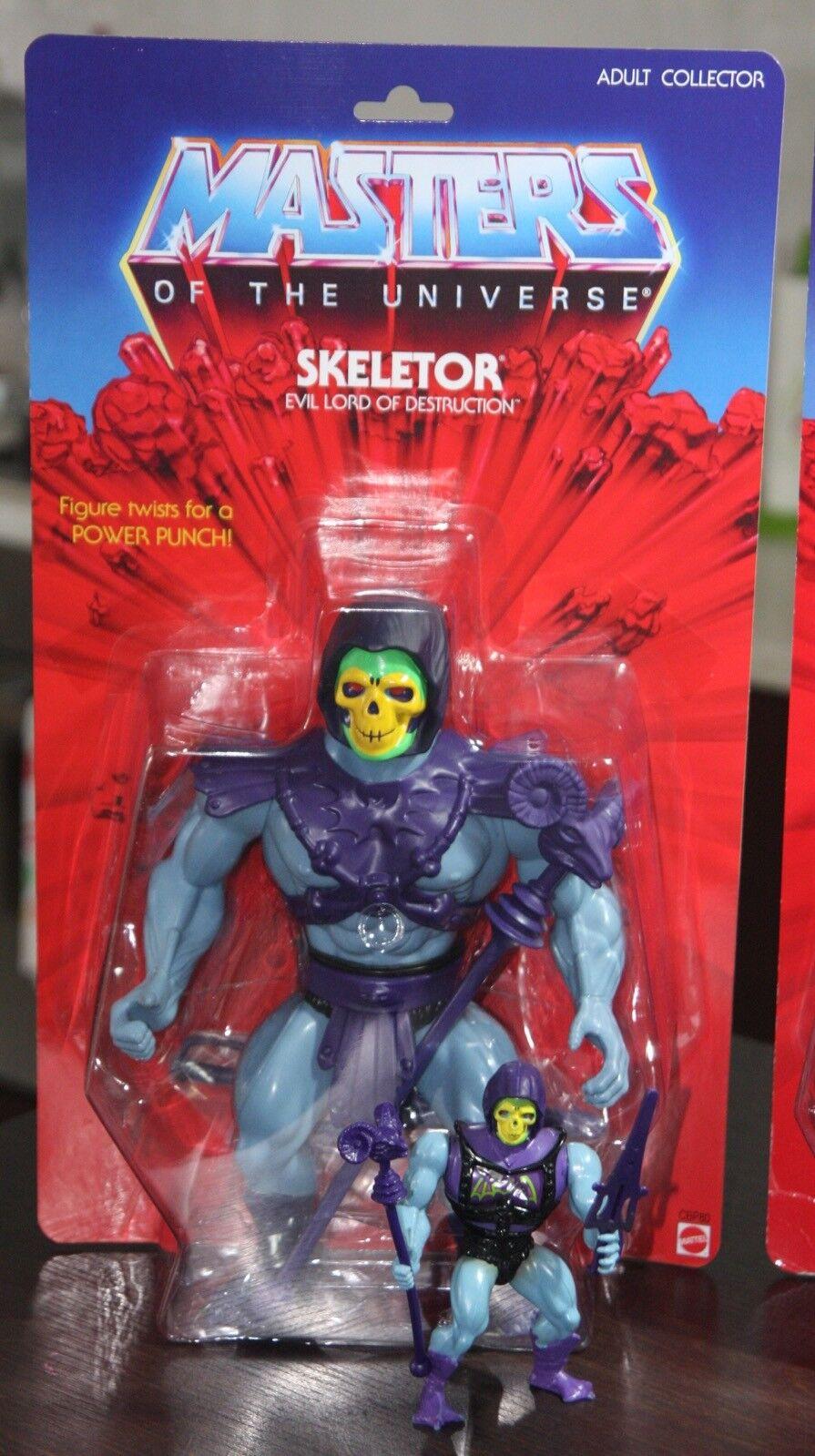 "ventas en linea Skeletor GIANT  12"" 2014 2014 2014 VINTAGE styled Motu Classics Giants  He-Man MOC OVP  a la venta"