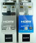 SONY 1.4 2M HDMI Cable Full HD For 3D HDTV PS3 XBOX 360 1080P Black or White