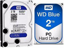 Western Digital WD BLUE 2TB Desktop Hard Drive HDD SATA 3 64MB Cache WD20EZRZ