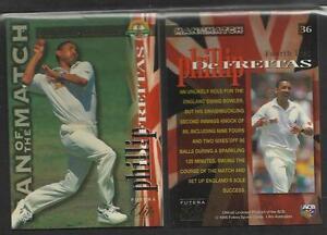 PHILLIP DEFREITAS 1995 FUTERA CRICKET ASHES ELITE CARD No 36