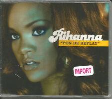 RIHANNA Pon De Replay w/RARE DUB & INSTRUMENTAL & VIDEO UK CD Single SEALED 2005