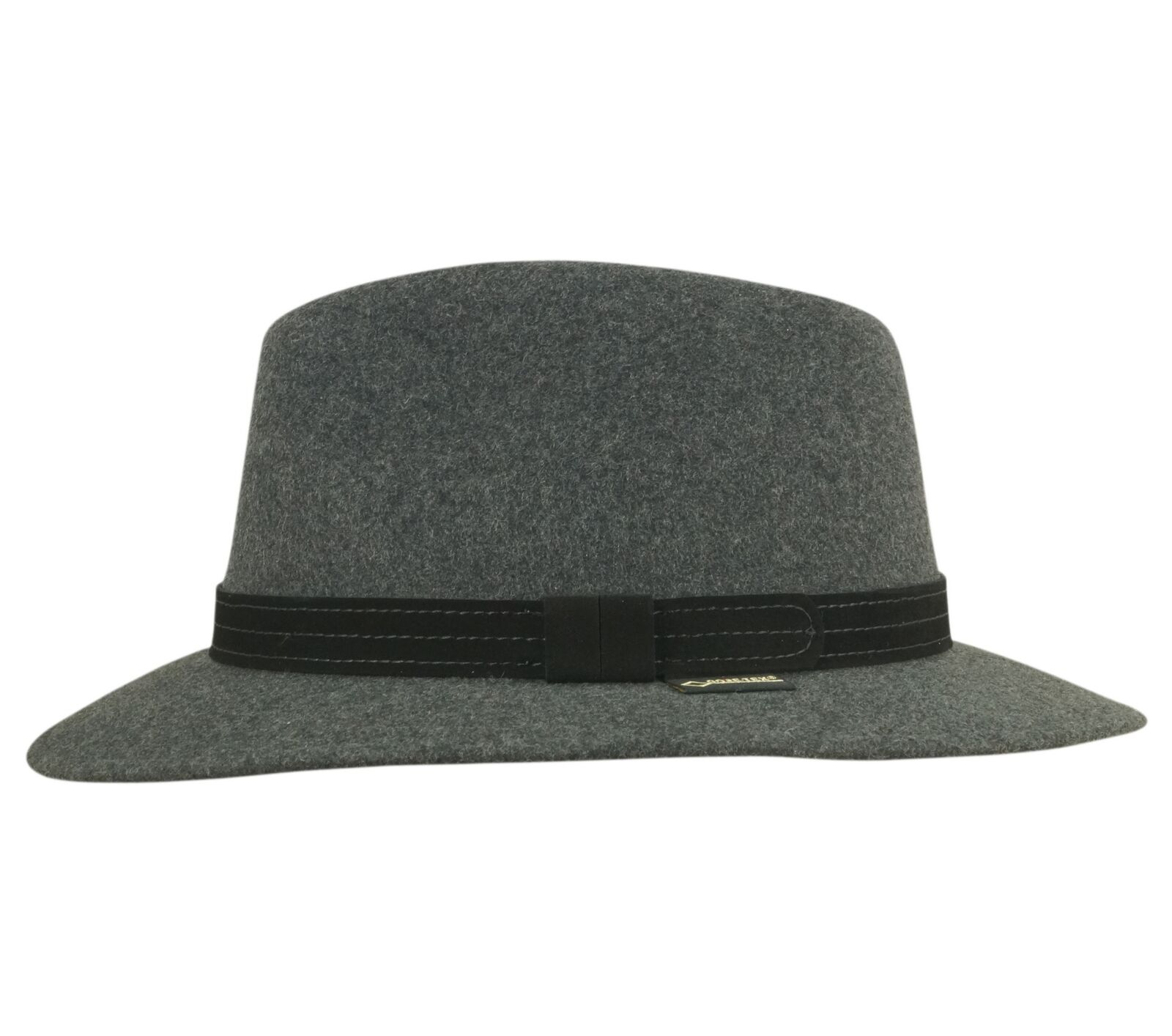 Classic Gore-Tex Mens Fedora Hat Water Repellent knautschbar - 100% Wool Felt