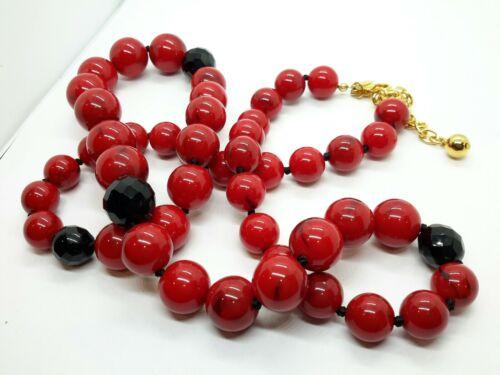 Vintage  Joan Rivers Red Necklace