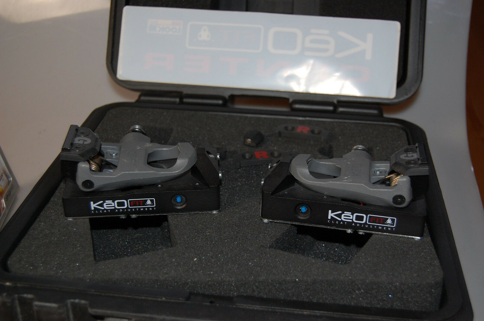 Look Keo Cleat fit adjustment-Suitcase
