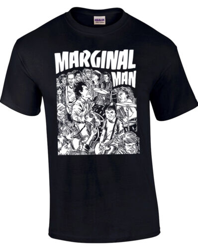 Punk Marginal Man T-shirt by Brian Walsby Official Rare Limited to 300