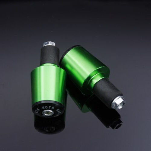 17mm Motorcycle Handle Handlebar Grips Bar End Cap Plugs Slider Aluminum Alloy