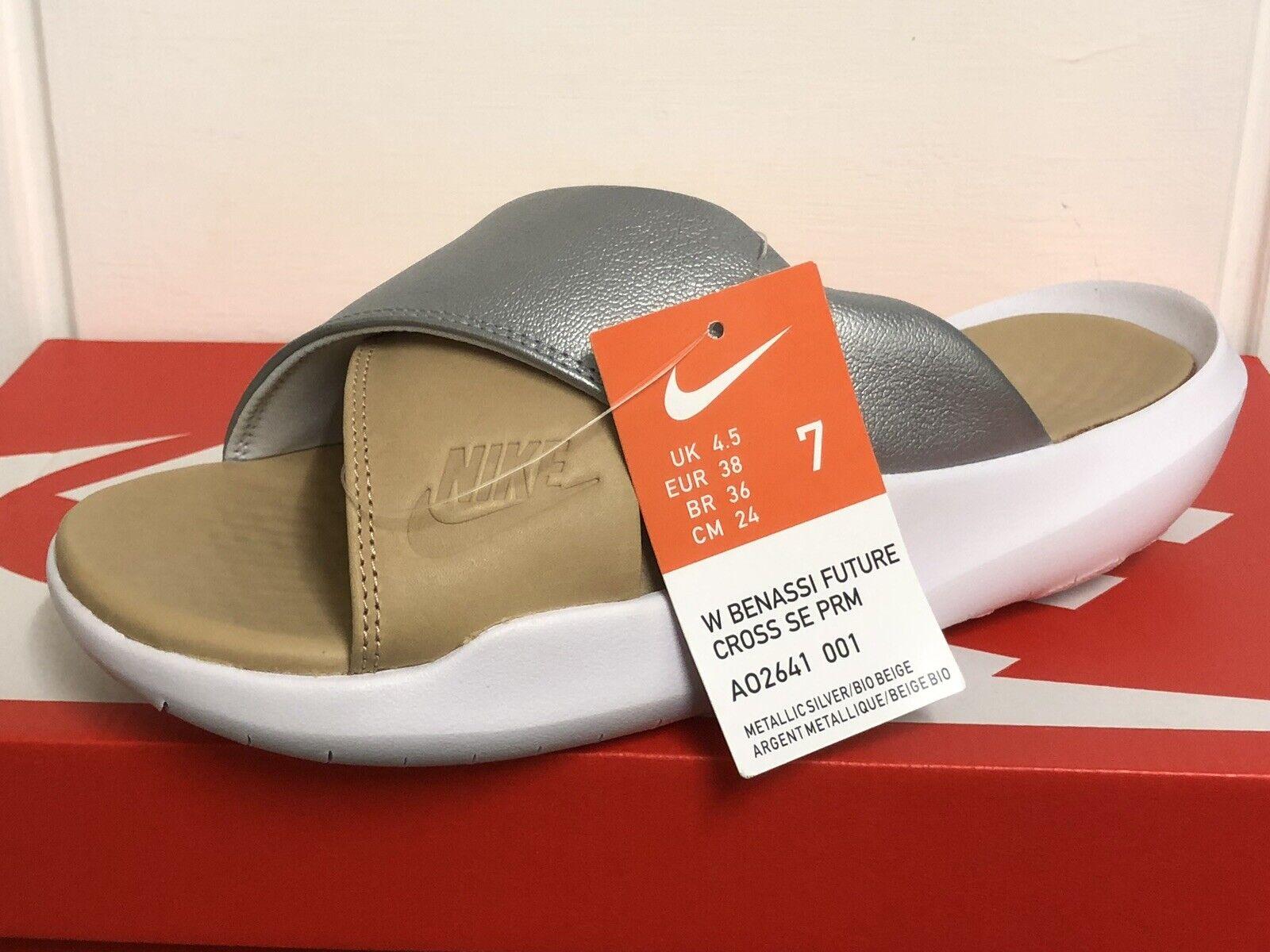 Nike Benassi futuro Cross diapositive INFRADITO DA DONNA TG EUR 38 US 7