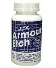 Glass Supplies Armour Etch Glass Etching Cream - 10 oz  NEW