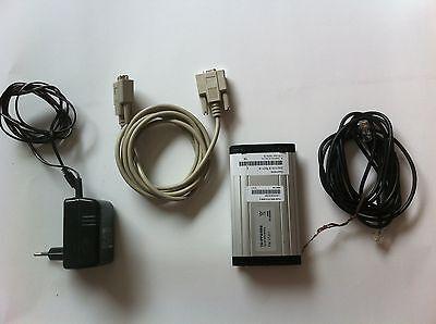 Realistisch Siemens Pocket Modem Isdn S30122-x7551-x Incl. Kabel Und Netzteil