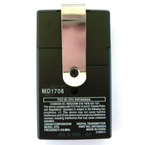 3 DT DTC Moor-O-Matic Porte Porte De Garage Télécommande DNT00002A DTA Linéaire DELTA